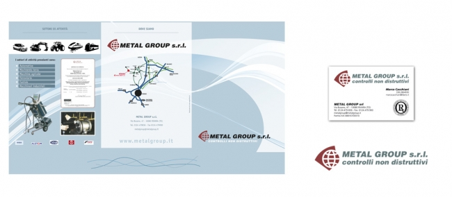 Brochure Design Metal Group