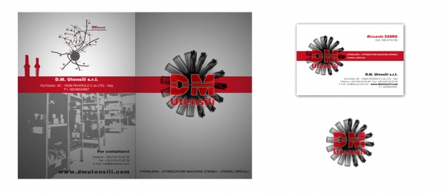 Brochure Design DM Utensili